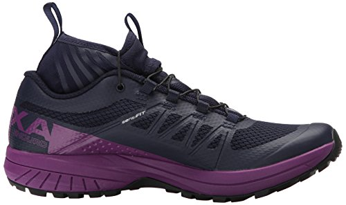 Salomon Womens Xa Enduro W Trail Runner Blu Sera / Succo Duva / Nero
