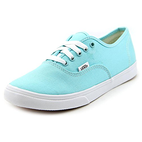Vans Unisex Authentic Lo Pro Aqua Splash/True White Skate Shoe 5 Men US / 6.5 Women - Cheap Vans Authentic
