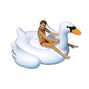 Swimline Giant Inflatable Swans from Swimline