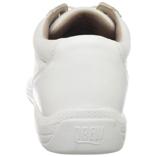 Drew Shoe Mujeres Tulip Comfort White Calf