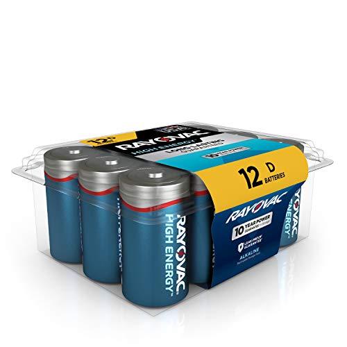 Rayovac D Batteries Alkaline
