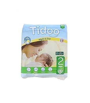 Tidoo 64 Couches Taille 2 Mini 3 6kg Amazonfr Hygiène Et Soins