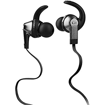 Monster iSport Victory In-Ear Headphones, Black, Running, Sweatproof