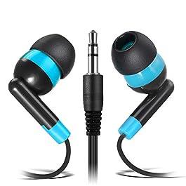 Wholesale Earphones Bulk Earbuds Headphones – Keewonda 100 Pack Ear Buds Classroom Bundle Packs Headphones Disposable…