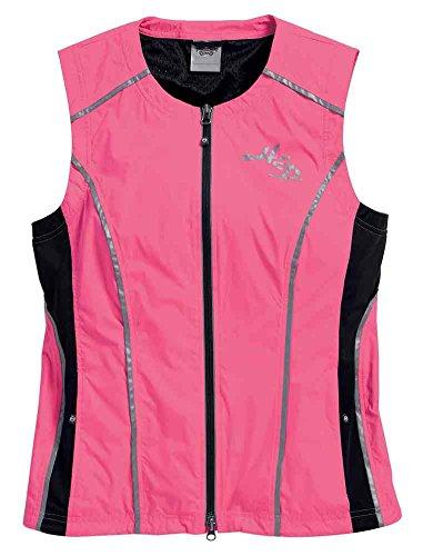 Harley Davidson Reflective Vest - Harley-Davidson Women's Hi-Vis Reflective Vest, Pink/Black. 98202-16VW (S)