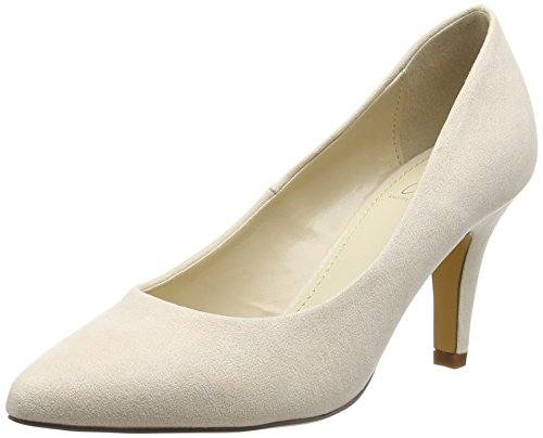Another Pair of Shoes PriscilaaE1 - Bombas cerrados, color Beige, talla 39 EU