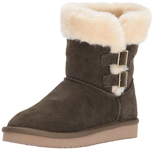 Koolaburra by UGG Women's Sulana Short Fashion Boot, Olive Night, 7 M US (Boots Uggs The Over Knee)