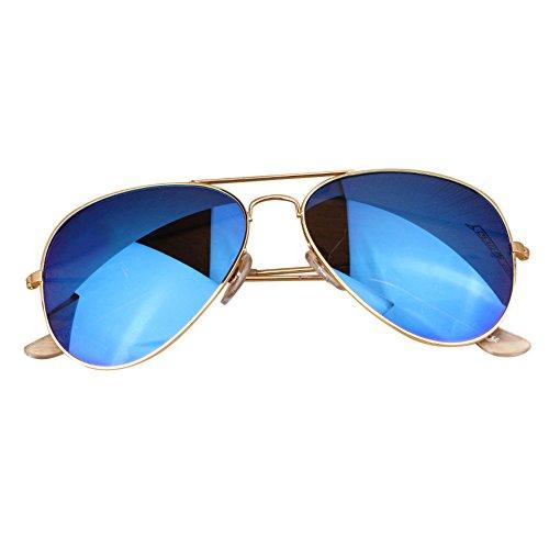 Rétro de Accessoires Sunglasses Couleur 1 Lunettes Vintage Ronde Soleil Metalique Homme Dihope Z5S8Bxwn