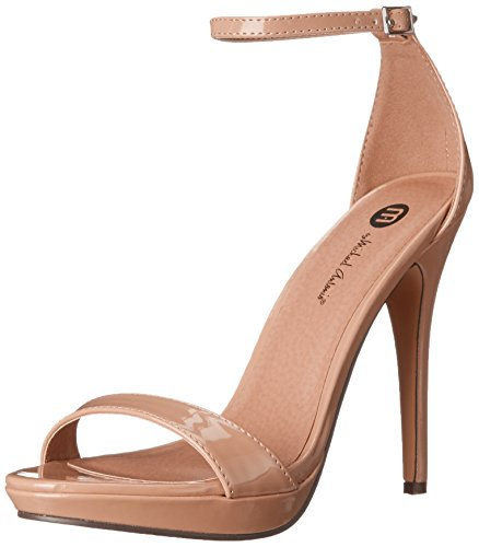 Michael Antonio Women's Lovina-Ptn Platform dress Sandal, Nude 2, 7.5 M US from Michael Antonio