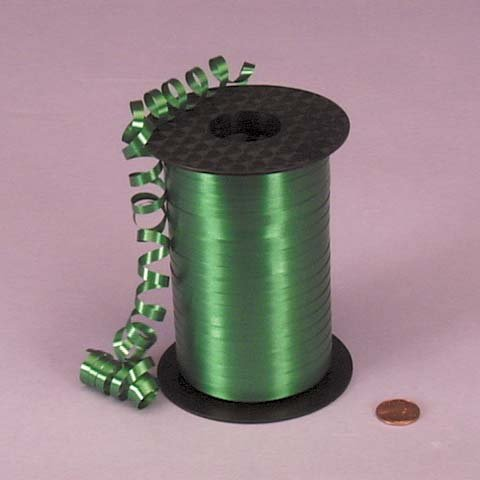 Emerald Green Curling Ribbon, 3/16