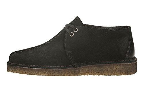 Clarks Originals Desert Trek, Zapatos de Cordones Derby para Hombre, Various negro