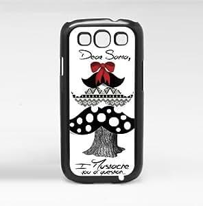 lintao diy Dear Santa Christmas Tree I Mustache You a Question Phone Case (Galaxy s3 sIII)
