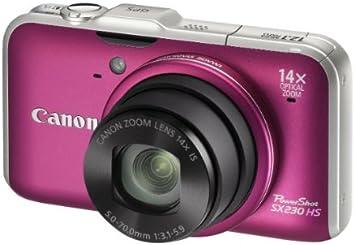 Canon PowerShot SX230 HS - Cámara Digital Compacta: Amazon ...
