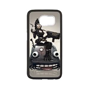 warrior woman Samsung Galaxy S6 Cell Phone Case Black yyfD-074729
