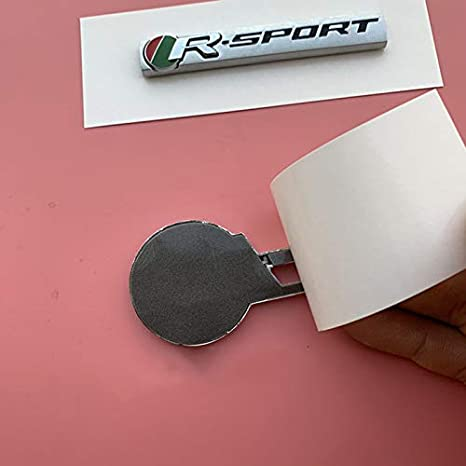 R-sport bar RS Green Red Badge R-Sport Bar Emblem for Jaguar XE F-PACE Fender Trunk Car Styling Refitting Sport Car High Performance Sticker