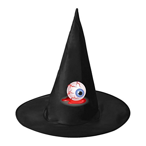 SeSHU Black Magic Witch Cape with Wicked Eyeball in Halloween Fancy (College Girl Halloween Costumes Homemade)