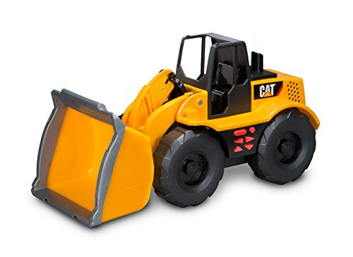 Toy State Caterpillar Construction Job Site Machines: Wheel Loader (Styles May Vary)