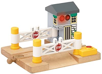 Thomas And Friends Wooden Railway - Deluxe Railroad Crossing by Rc2