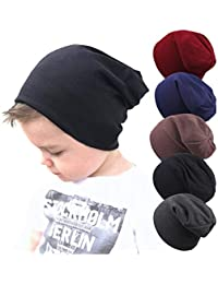 2f5cc8fc795 Baby Boy s Beanie Hats Cotton Skull Caps for Toddlers Kids Little Boys 6-60  Months