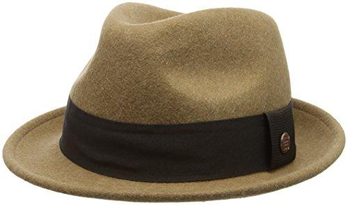 ESPRIT Herren Trilby 096EA2P004, Braun (Camel 230), Medium (Herstellergröße: M)