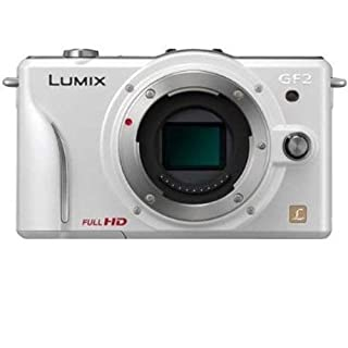 Panasonic Lumix DMC-GF2 Digital Micro Four Thirds Camera Body International Version (No Warranty) (White)