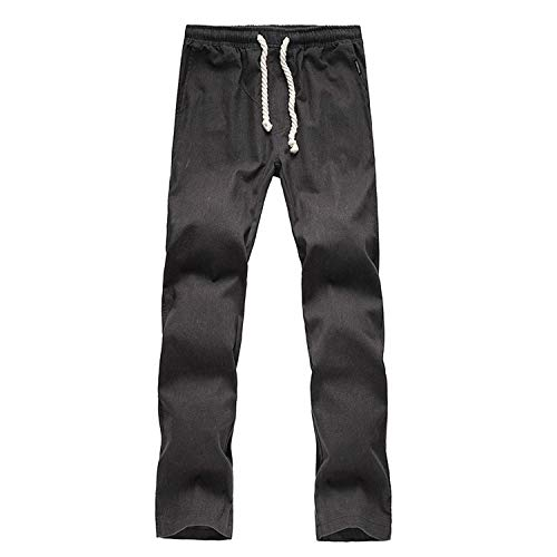 Solid De Pantalon Lin Style Pantalons Automne En Hommes Durée Longue Survêtement Crystallly Simple Mode Grau Décontractés Printemps Color Pour Joggers Casual 6wUnF