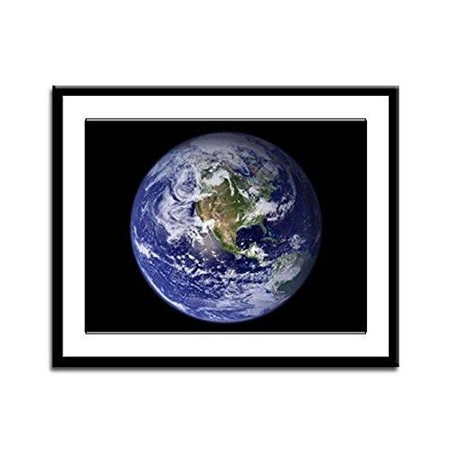 Framed Panel Print Planet Earth The World ()