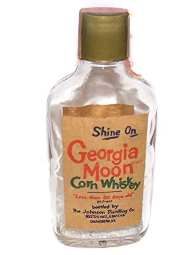 Vintage Shine On Georgia Moon Corn Whiskey Bottle Johnson Distilling Co.