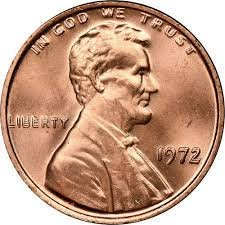1972 S Lincoln Penny Proof GEM BU+