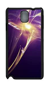Abstract Light PC Case and Cover for Samsung Galaxy Note 3 Note III N9000 Black