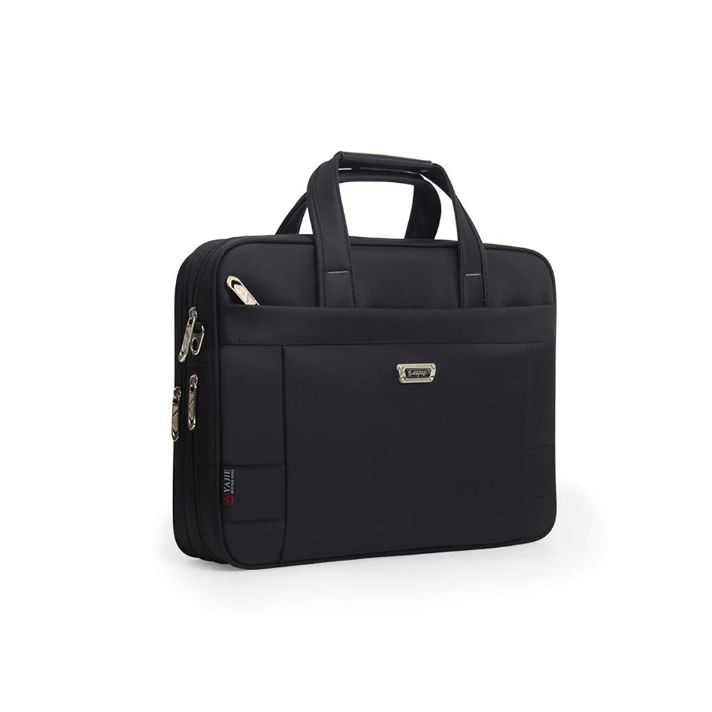 QSJY File Cabinets Business Document Bag, Oxford Cloth Durable Briefcase, Document Laptop Travel Bag 3 Optionals (Size : 318L-40×31×(9.5-11) cm) by QSJY File Cabinets