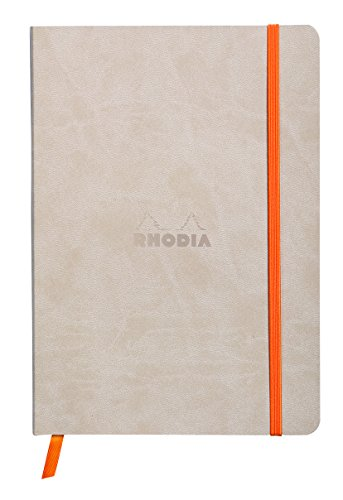 Rhodiarama Dot 5.8 x 8.3 inch Beige Notebook