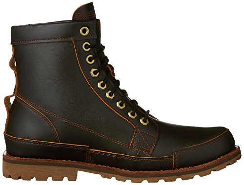 Boot EK Smooth 6 Timberland Dark Original Men's Inch Casual Brown qSxgAZwF