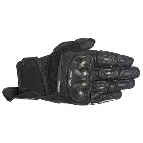 Air Carbon Motorcycle Gloves - Alpinestars SP-X Air Carbon Men's Street Motorcycle Gloves - Black / 3X-Large