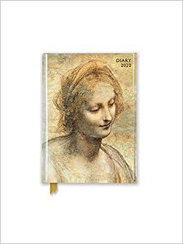 leonardo da vinci head of the virgin pocket diary 2020