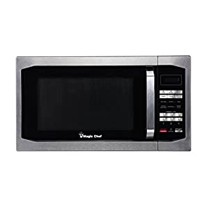 Magic Chef MCM1611ST 1100W Microwave Oven, 1.6 cu.ft., Stainless Steel