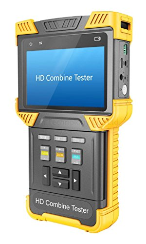 HDVD CCTV Analog + IP + CVI HD Combine Tester, Support ONVIF RTSP RTP, RS485 PTZ Control (T62) ¡¦
