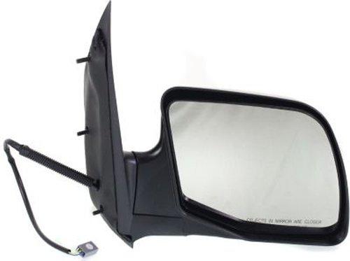Crash Parts Plus Passenger Side Black Mirror for Ford E-150, E-250, E-350 Econoline
