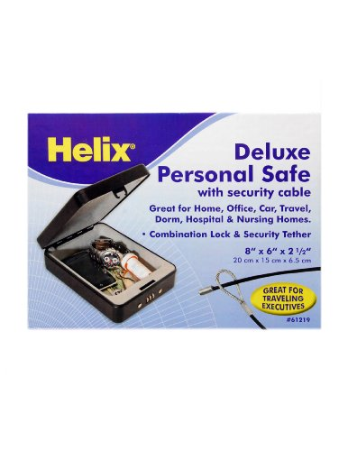 Helix Deluxe Personal Safe with Tether (61219) by Maped Helix USA