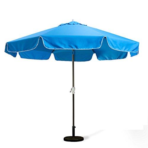 All Things Cedar 10Ft. Blue Patio Umbrella