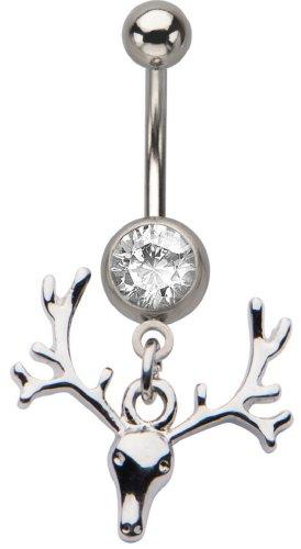 deer skull ring - 8