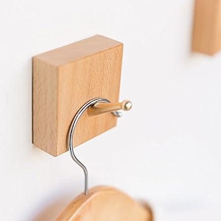 Anaan Square Wooden Wall Coat Rack Coat Hooks Wood Wall Hooks With Inspiration Wooden Wall Coat Rack