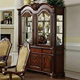 247SHOPATHOME Idf-3005HB China-Cabinets, Brown