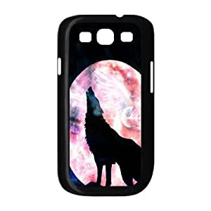 C-Y-F-CASE DIY Design Howling Wild Wolf Pattern Phone Case For Samsung Galaxy S3 I9300