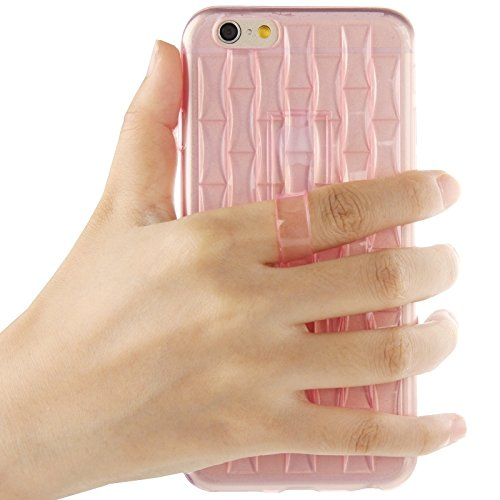 Phone Taschen & Schalen Für IPhone 6 Plus / 6S Plus, Eisskulpturen TPU Schutzhülle mit Griff ( Color : Pink )