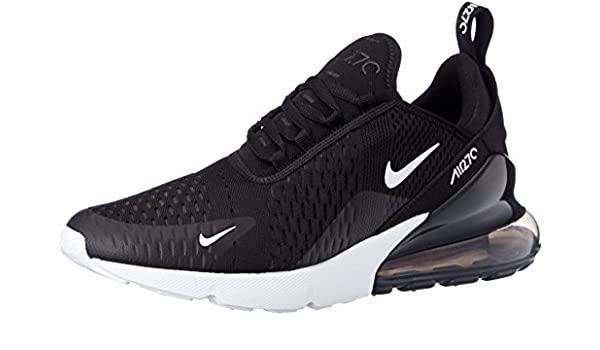 | Nike Men's Air Max 270 Shoes (7, BlackTeal