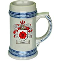 Beyer Family Crest Stein / Coat of Arms beer mug