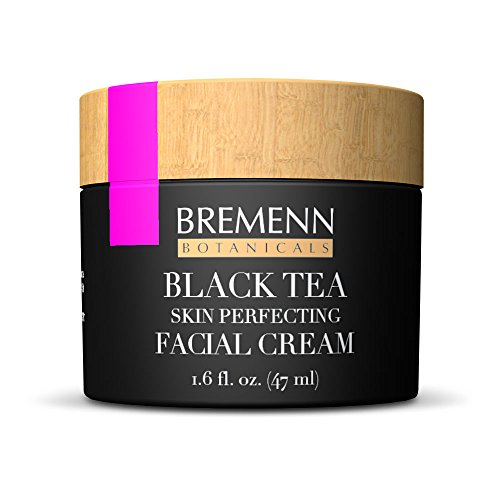 Black Tea Skin Perfecting Facial Cream - Proprietary Topical Cream Made With Black Tea Extract for Anti-Aging, Anti-Wrinkles, Stronger, Firmer, Healthier Skin (1.6 fl. oz.)