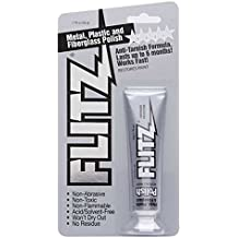 Flitz BP 03511 Metal, Plastic and Fiberglass Polish with Paint Restorer, 1.76-Ounce, Small