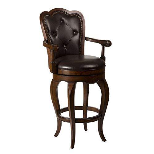 Hillsdale Furniture 5080-831 Eastwind Swivel Bar Stool, Dark Cherry